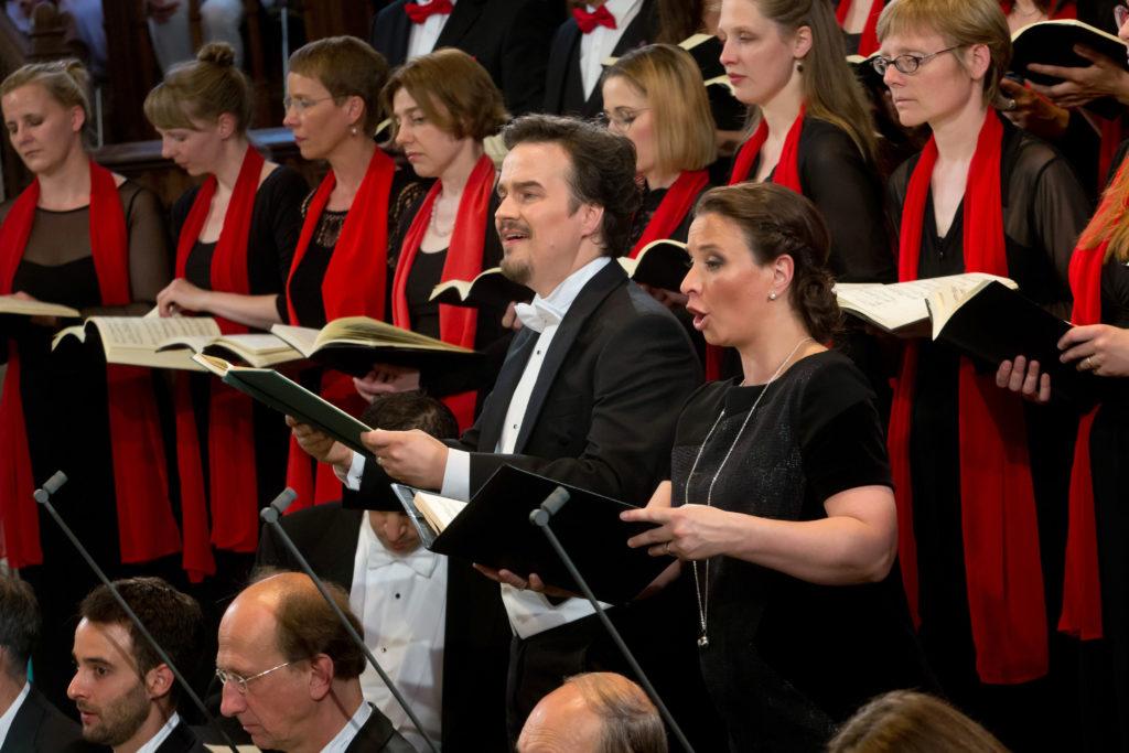 Bachfest Chor mit Wolfram Lattke