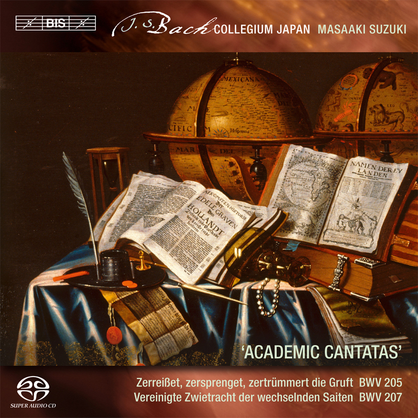 CD-Cover Academic Cantatas
