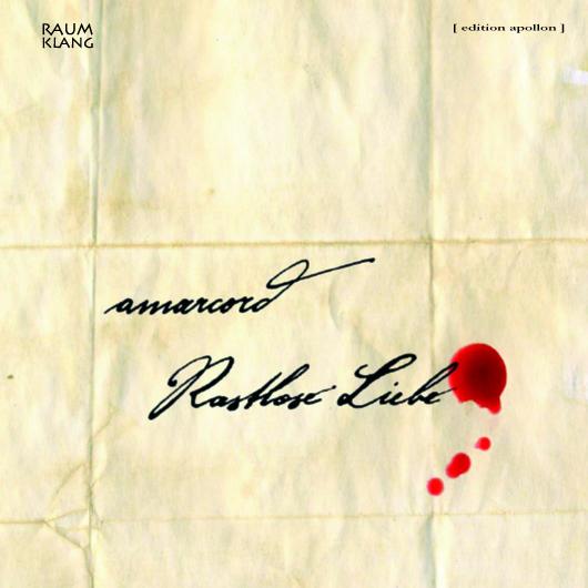 CD-Cover - rastlose Liebe