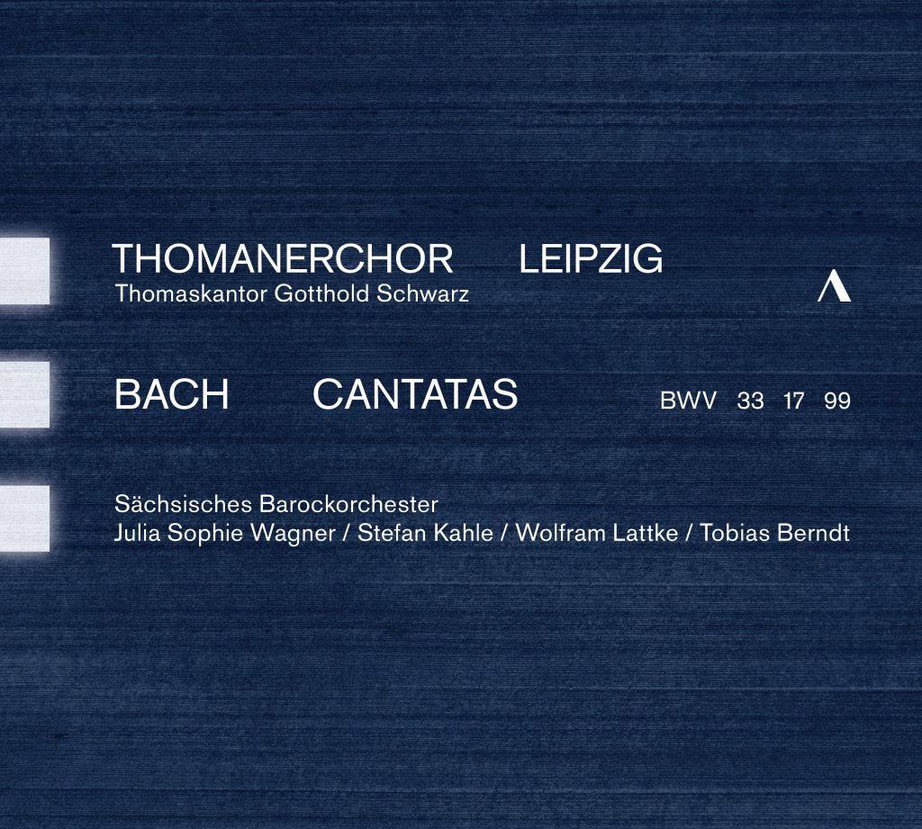 CD-Cover Bach Cantatas